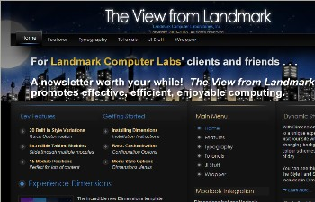 The View from Landmark Web site